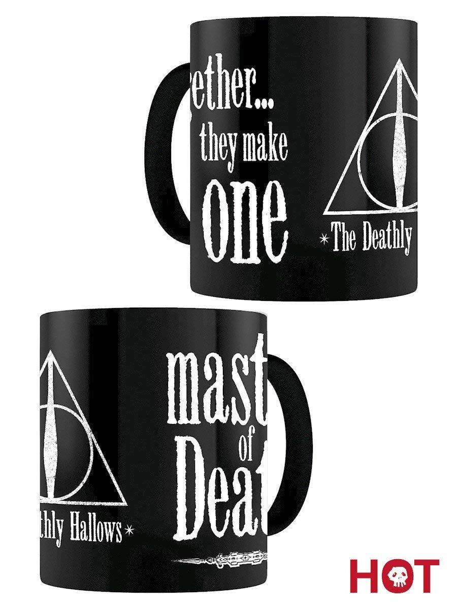 Tazza Termosensibile - Harry Potter - Doni Della Morte (Deathly Hallowes)
