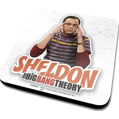 Sottobicchiere - Big Bang Theory - Sheldon