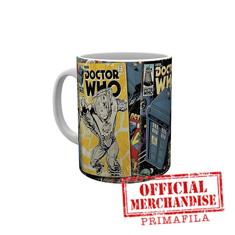 Tazza - Doctor Who - Comics
