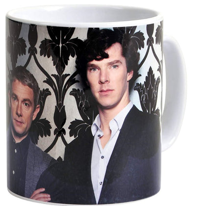 Tazza - Sherlock - Smiley