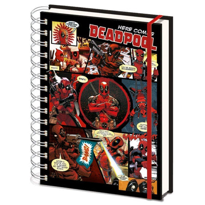 Quaderno - (A5) Deadpool - Marvel