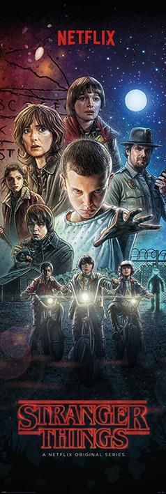 Poster - Stranger Things - One Sheet (53X158 Cm)