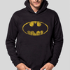 Felpa - Batman Logo Distressed