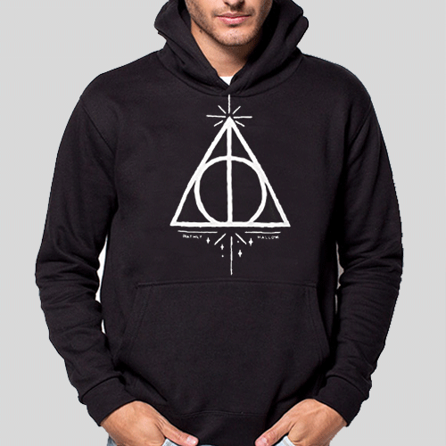 Felpa - Harry Potter - Deathly Hallows - (Doni Della Morte)