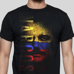 T-Shirt - Narcos - Flag Face