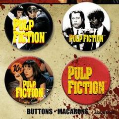 Spille - Badge - Pulp Fiction