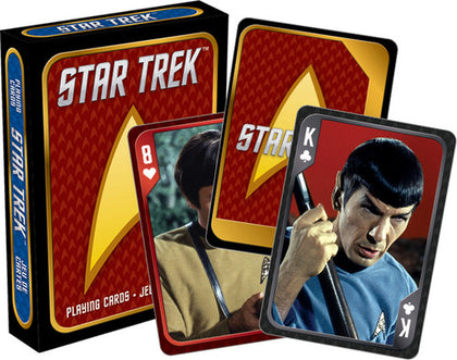 Carte - Star Trek - Cast (Carte Da Gioco)