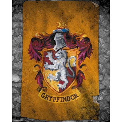Poster - Harry Potter - Gryffindor Flag
