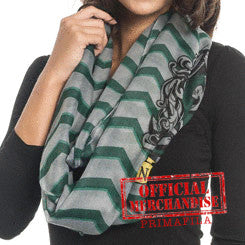 Harry Potter Loop Scarf Slyterin Sciarpe