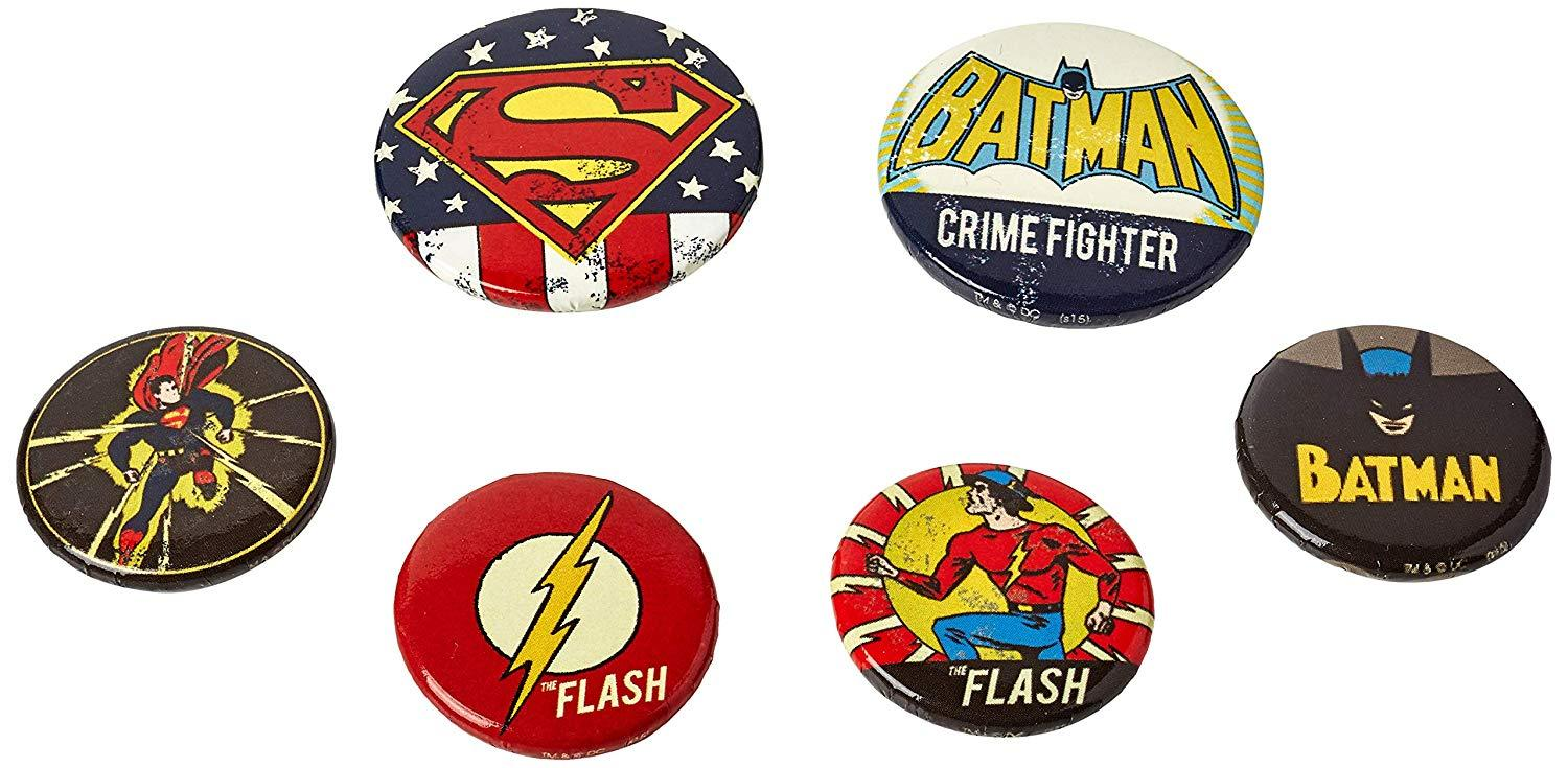 Spille - Badge - Dc Comics - Retro