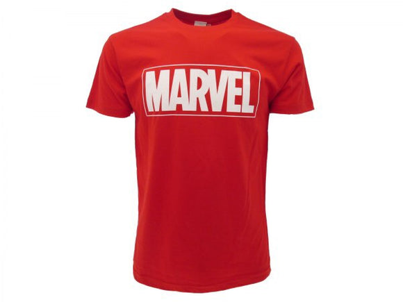 T-Shirt - Marvel - Logo Red