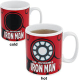 Tazza Termosensibile - Iron Man - Marvel