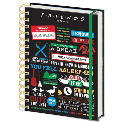 Quaderno - Friends - Infographic (A5)