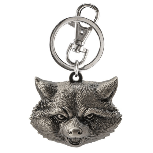 Portachiavi - Guardians Of The Galaxy - Rocket Raccoon Pewter
