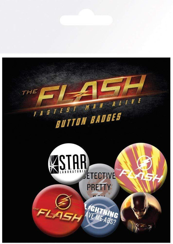Spille - Badge - Dc Comics - Flash - Mix