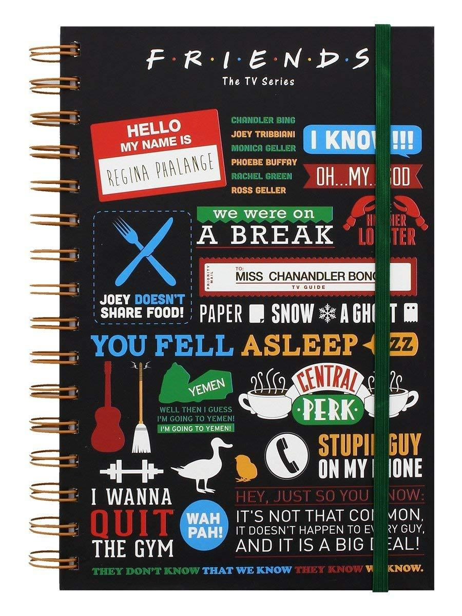 Quaderno - Friends - Infographic Notebook (A5)