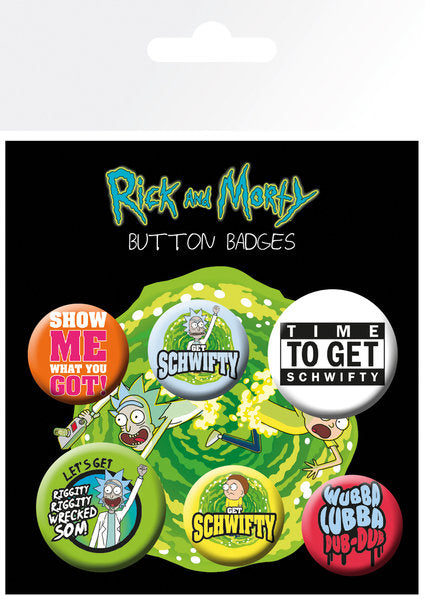 Spille - Badge - Rick And Morty - Quotes