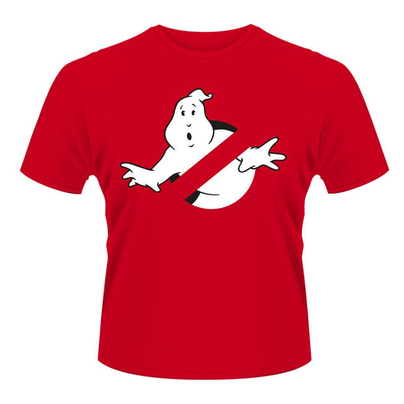 T-shirt - Ghostbusters - Logo Red