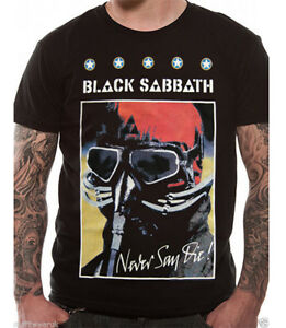 T-shirt - Black Sabbath - Never Say Die Poster