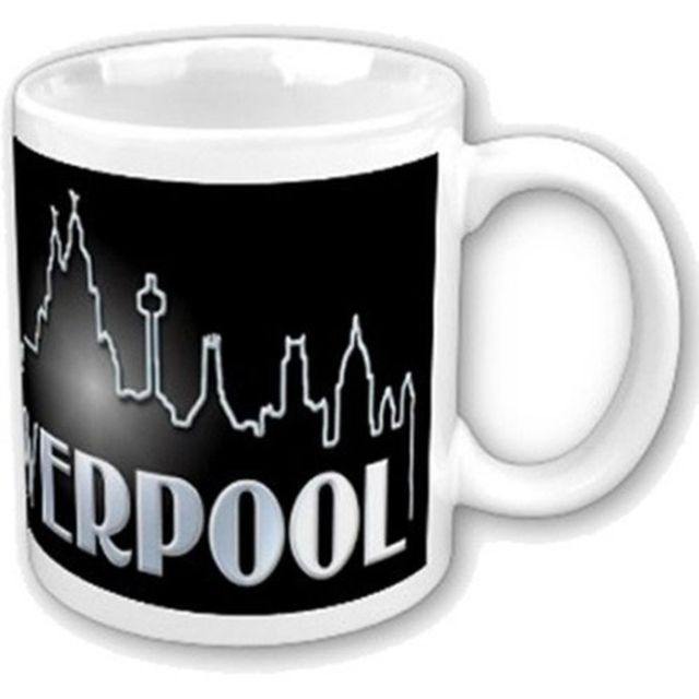 Tazza - Beatles - Liverpool Skyline