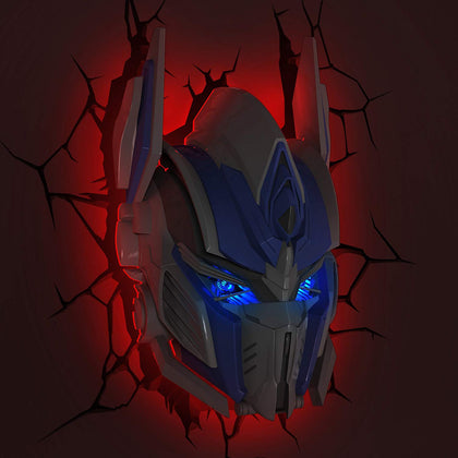 Lampada - Transformers - 3D Light Fx  - Optimus Prime