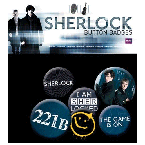 Spille - Badge - Sherlock - Mix