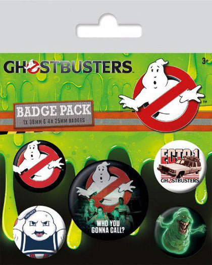Spille - Badge - Ghostbusters