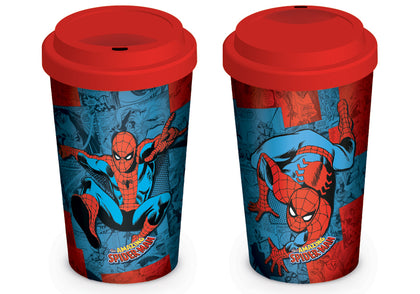 Tazza da viaggio - Spiderman - Marvel Retro (Spider-Man Comic)