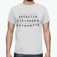 T-Shirt - Stranger Things - Lettere