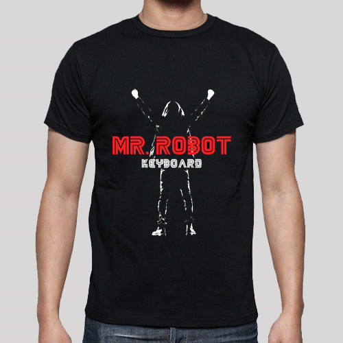 T-Shirt - Mr. Robot - Poster