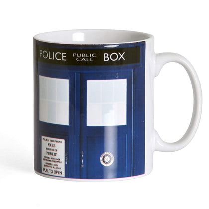 Tazza - Doctor Who - Tardis