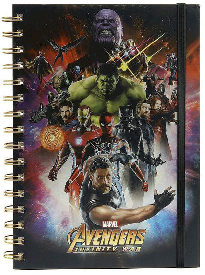 Quaderno - Marvel - Avengers Infinity War (A5)