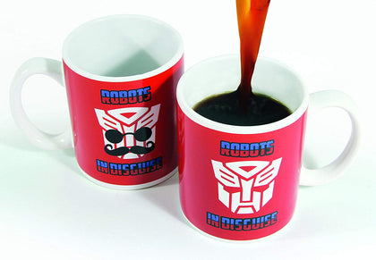 Tazza Termosensibile - Transformers - Robots In Disguise