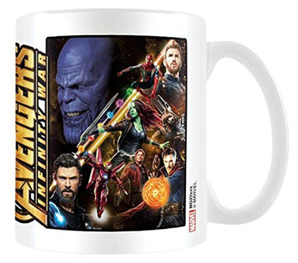 Tazza - Avengers Infinity War - Marvel - Space Montage