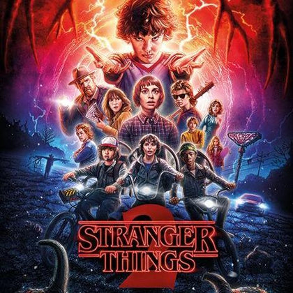 Poster - Stranger Things - One-Sheet Season 2