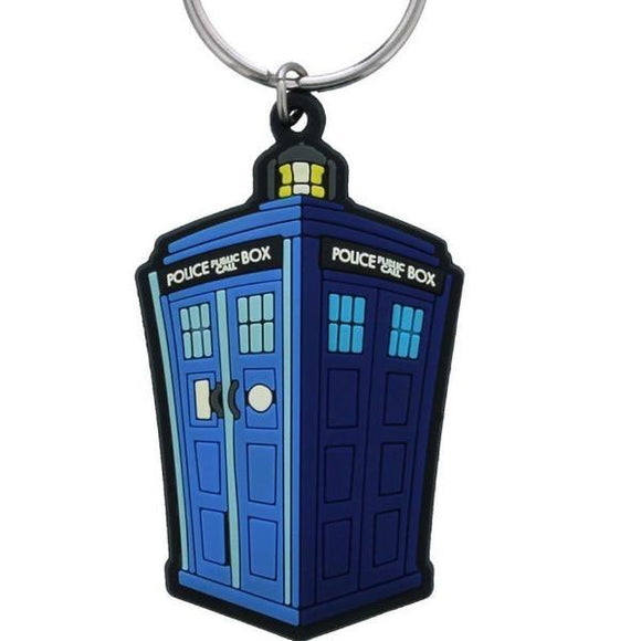 Portachiavi - Doctor Who - Tardis Illustration