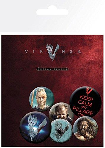 Spille - Badge pack - Vikings - Mix