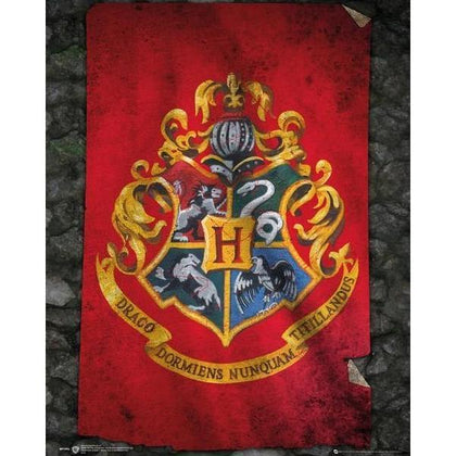 Poster - Harry Potter - Hogwarts Flag