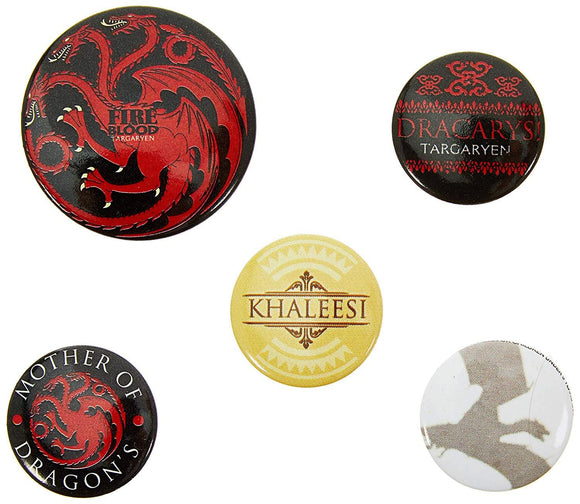 Spille - Badge - Game Of Thrones - Fire And Blood