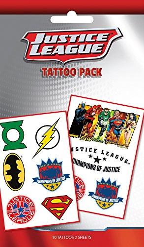 Tattoo - Dc Comics - Justice League(Temporary Tattoo)