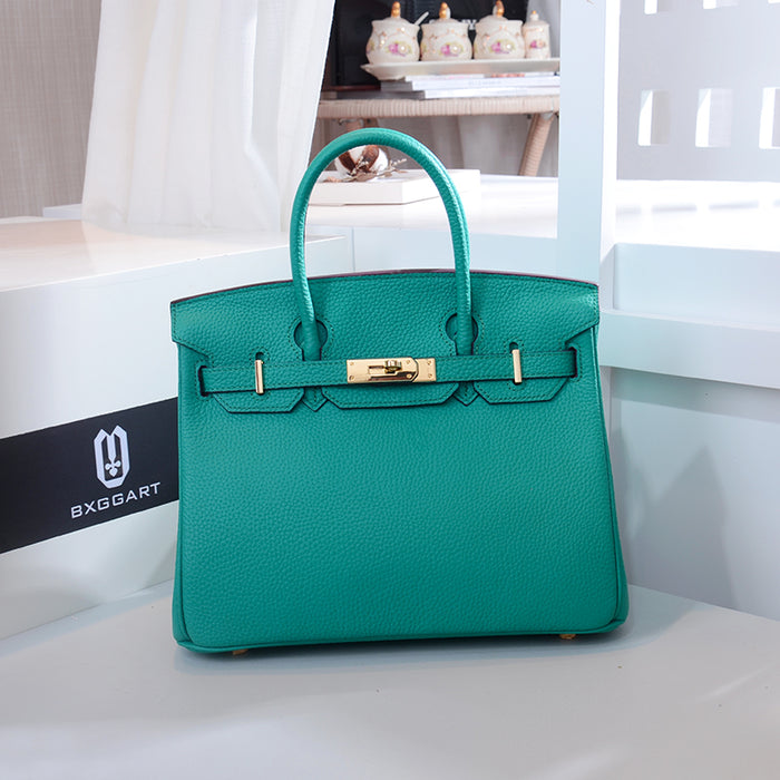 Sac Birkina Fluo - Lake Green 30cm Medium