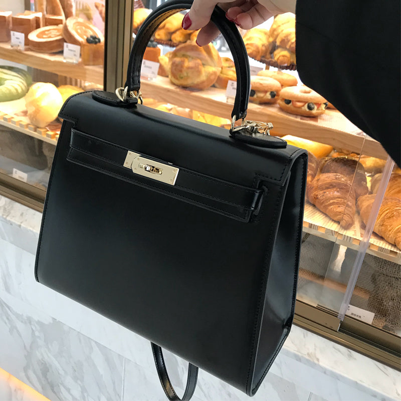 Sac Kelly en Cuir Box