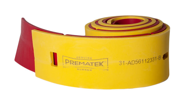 Cardinal Red/Prematek Rear Squeegee Set replaces Advance 56112331