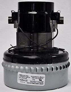 Ametek Lamb 5.7, 240 Volt, 2 Stage, Double Ball Bearing Peripheral Bypass Motor 116354-00