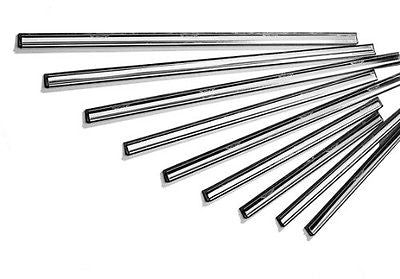 Ettore 1177 Master Stainless Steel Clipped Channel with Rubber (Pack of 12)