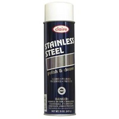 Claire 15 Oz Stainless Steel Cleaner & Polish (841)