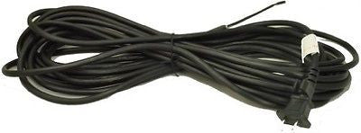 Replacement 30' Black Vacuum Cleaner Power Supply Cord, 17/2