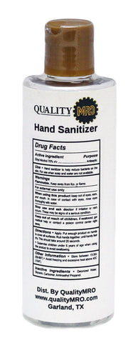 Hand Sanitizer, 8oz Bottle