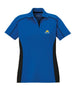 Ladies Performance Colorblock Polo