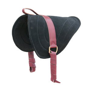 Bareback Pad Black for Natural Horse Riding